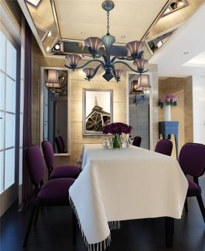 新古典白色餐桌