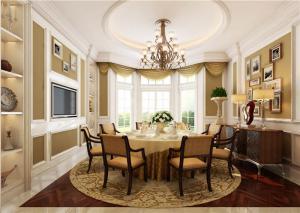 新古典欧式餐桌餐椅