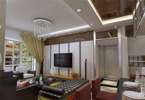 公寓伸缩式电视柜