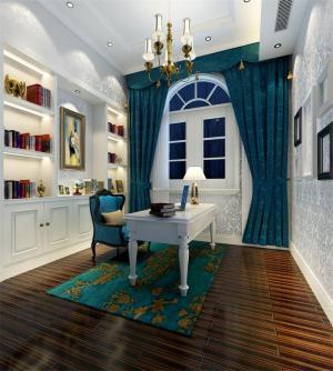 欧式书房装修效果图装修设计理念