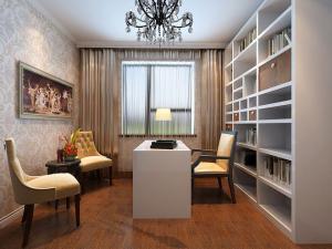 复式设计简欧书房装修效果