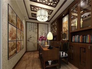 中式书房装修效果图图集
