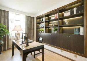 中式家庭书房装修效果图