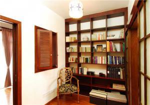 混搭现代书房装修效果图