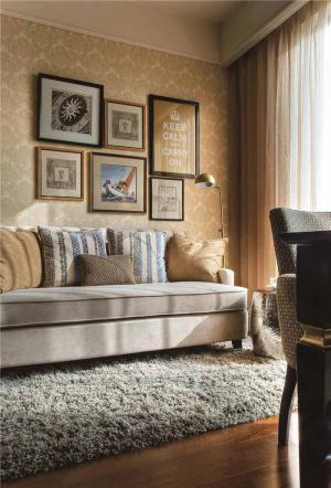欧式现代客厅家具图片