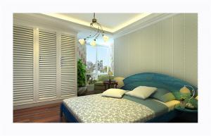 欧式奢华十平米小卧室装修图