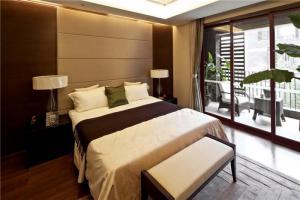 美式十平米小卧室装修图欣