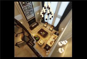 现代美式客厅家具图片