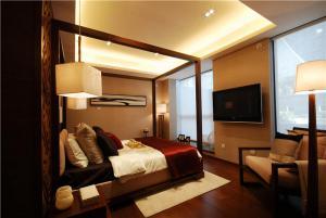 欧式奢华别墅卧室装修