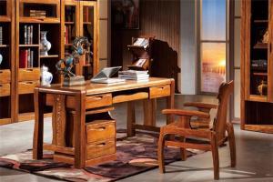 中式书桌家具搭配