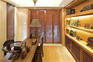 华丽中式书柜