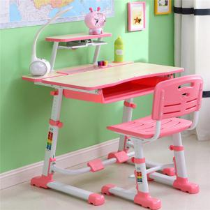 女孩可升降学习桌