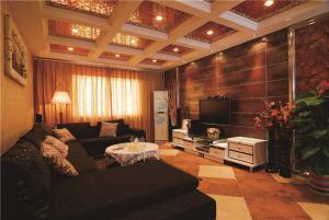 简约中式客厅家具图片
