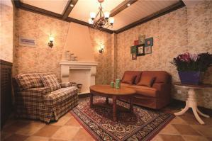家居客厅沙发布局图片