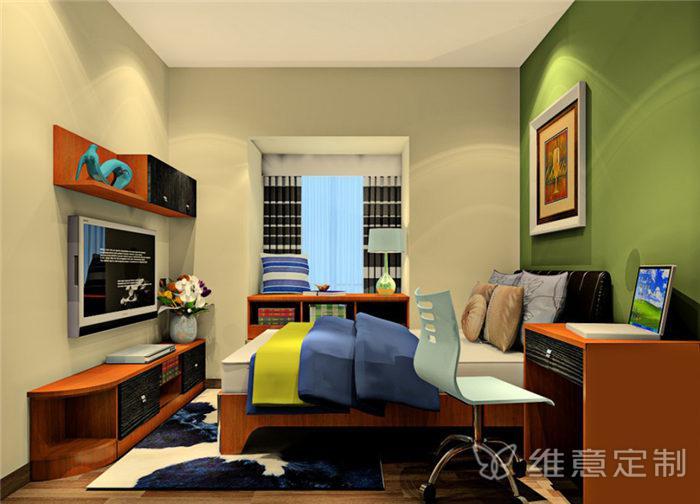 新中式飘窗书桌