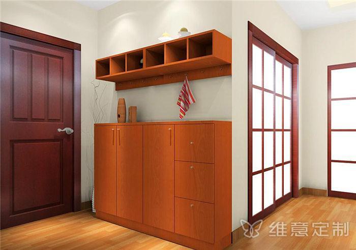 公寓超大鞋柜图片