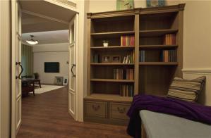 北欧风格整体书柜