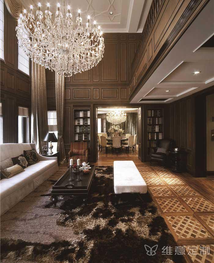 客厅沙发组合样板间