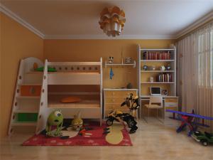 实用儿童床书桌