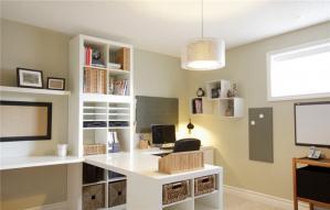 明亮家居书柜设计图