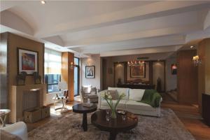 现代中式客厅家具图片