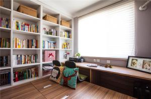 阳台收纳书柜