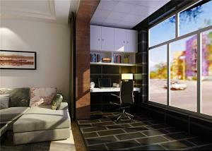 阳台书柜家具设计