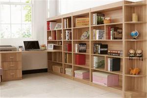 儿童简易书柜墙