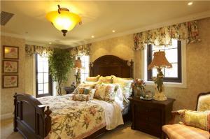 新古典别墅卧室装修图片
