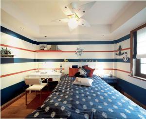 小清新十平米小卧室装修图