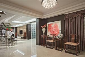 新古典长方形客厅家具