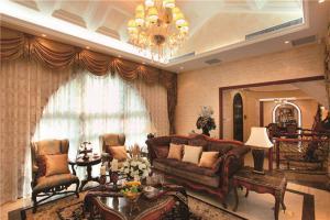 新中式客厅家具样板间
