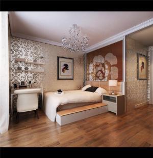 小清新日式卧室装修图片