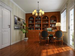 欧洲复古家具书柜