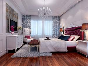 现代卧室布置图片