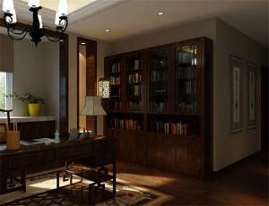 精致家具中式书柜