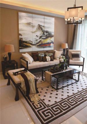 小户型客厅沙发布置
