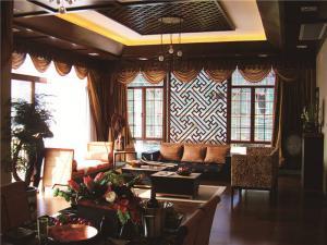 中式客厅家具图片欣赏