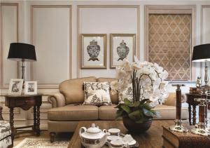 简易小户型客厅沙发