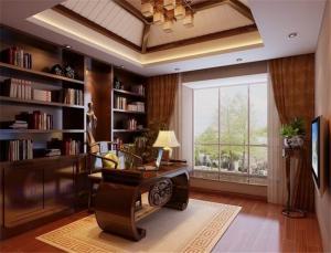 书房中式书柜