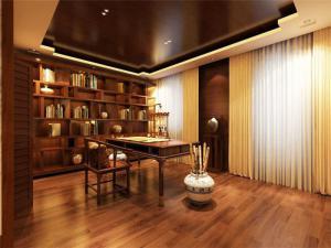 华丽的中式书桌