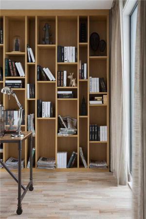 多功能整体书柜