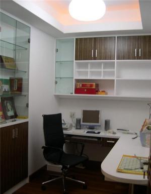 现代家具转角书柜
