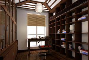 中式书柜家具定制