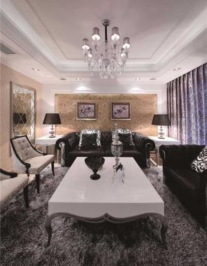 小户型客厅沙发布局图片