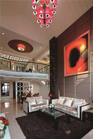简易中式客厅家具定制