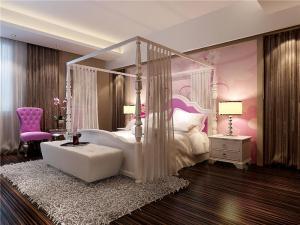温馨日式卧室装修效果图
