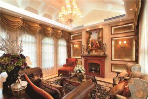 长方形客厅家具摆放