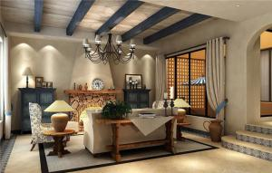 豪华简欧客厅家具