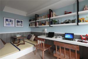 榻榻米家用书桌